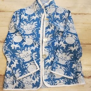 Jackets & Blazers - Asian Inspired Reversible Waist Coat